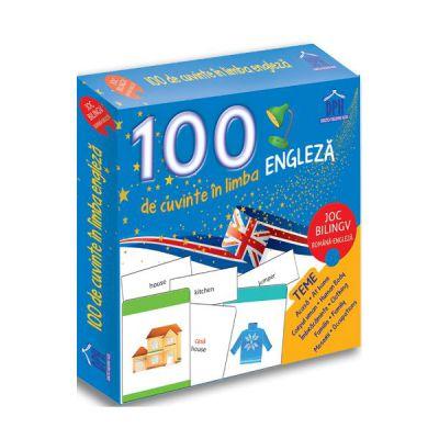 100 DE CUVINTE IN LIMBA ENGLEZA joc bilingv