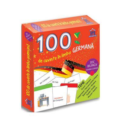 100 DE CUVINTE IN LIMBA GERMANA joc bilingv