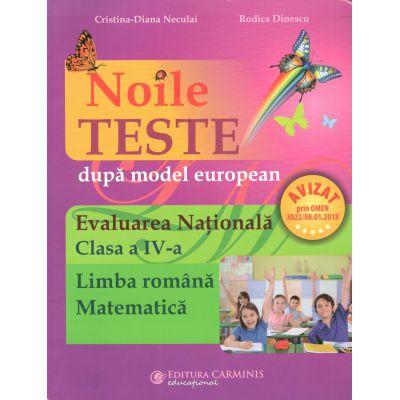 Evaluare Nationala cl.IV Limba romana Matematica