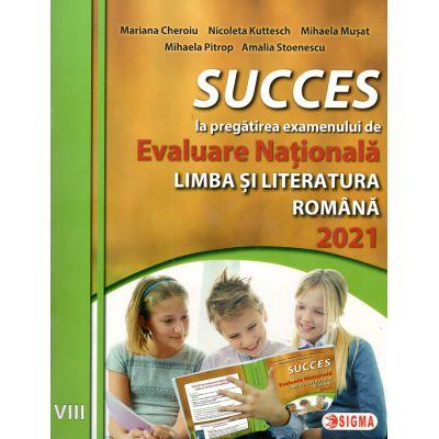Evaluare Nationala Limba si Literatura Romana 2021-clasa VIII