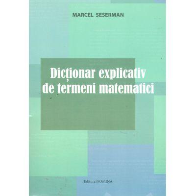 Dictionar explicativ de termeni matematici
