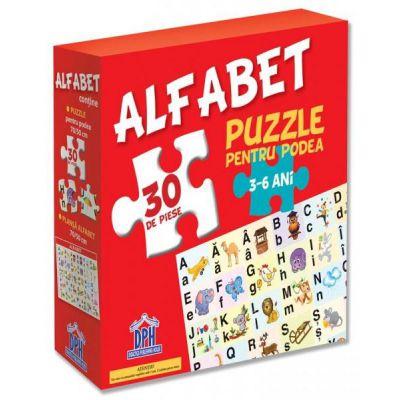 Alfabet-Puzzle pentru podea 3-6 ani