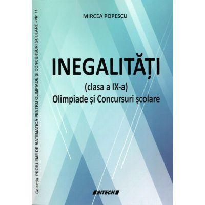 Inegalitati cls IX-a olimpiade si concursuri scolare