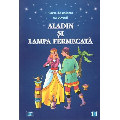 Aladin si lampa fermecata A4