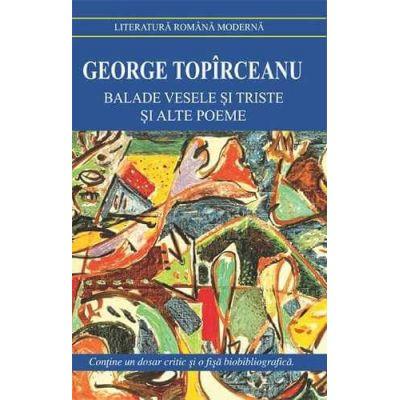 Balade vesele si triste si alte poeme-G. Toparceanu