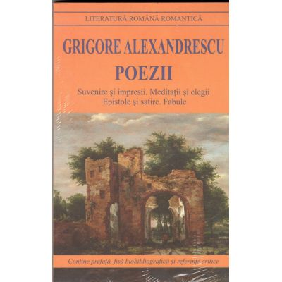 Poezii-Grigore Alexandrescu