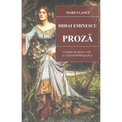 Proza Mihai Eminescu